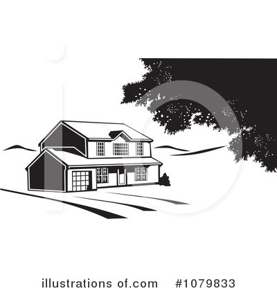 House Clipart #1079833 by David Rey
