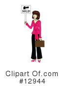 Real Estate Clipart #12944 by Rosie Piter