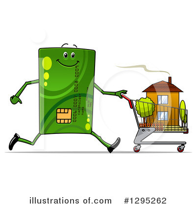Shopping Cart Clipart #1295262 by Vector Tradition SM