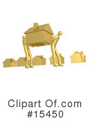 Royalty-Free (RF) Real Estate Clipart Illustration #15450