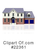 Royalty-Free (RF) Real Estate Clipart Illustration #22361