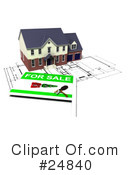 Real Estate Clipart #24840 by KJ Pargeter