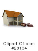 Royalty-Free (RF) Real Estate Clipart Illustration #28134