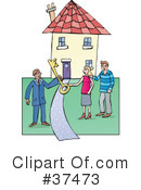 Royalty-Free (RF) real estate Clipart Illustration #37473