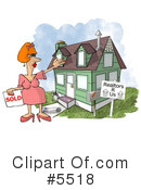 Royalty-Free (RF) real estate Clipart Illustration #5518