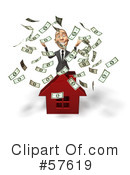 Royalty-Free (RF) Real Estate Clipart Illustration #57619