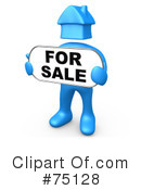 Real Estate Clipart #75128 by 3poD