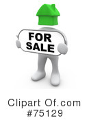 Royalty-Free (RF) Real Estate Clipart Illustration #75129
