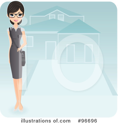 Realtor Clipart #96696 by Melisende Vector