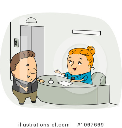 Secretary Clipart #1067669 by BNP Design Studio