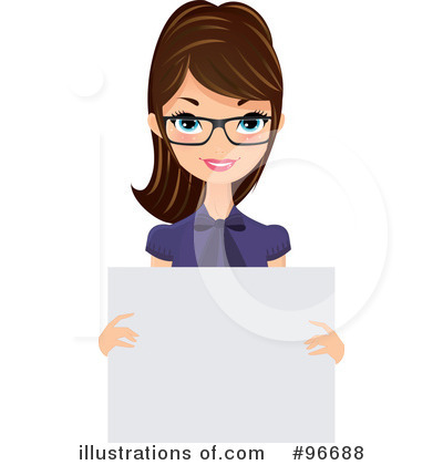 Receptionist Clipart #96688 by Melisende Vector