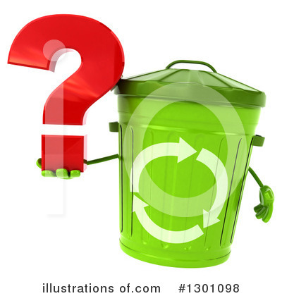 Recycle Bin Clipart #1301098 by Julos