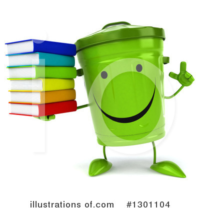 Recycle Bin Clipart #1301104 by Julos