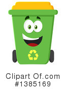 Recycle Bin Clipart #1385169 by Hit Toon
