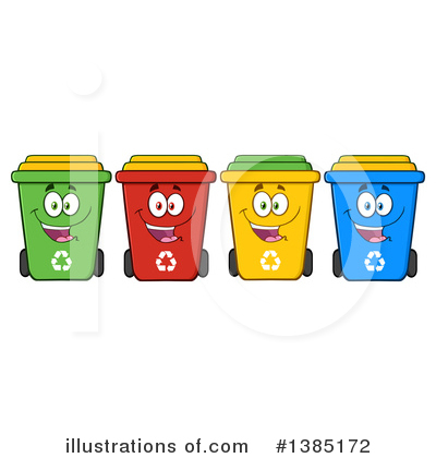 Garbage Clipart #1385172 by Hit Toon