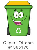 Recycle Bin Clipart #1385176 by Hit Toon