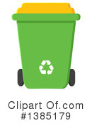 Recycle Bin Clipart #1385179 by Hit Toon