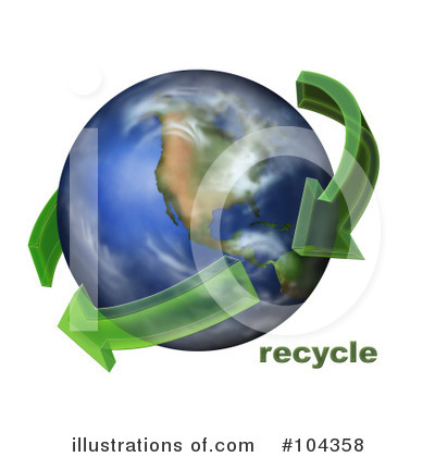 Recycling Clipart #104358 by BNP Design Studio