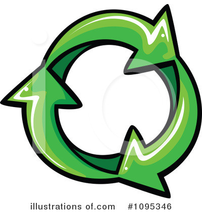 Recycle Clipart #1095346 by Chromaco