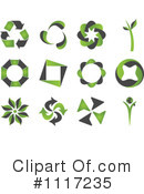 Royalty-Free (RF) Recycle Clipart Illustration #1117235