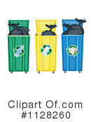 Royalty-Free (RF) recycle Clipart Illustration #1128260