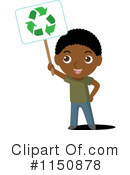 Royalty-Free (RF) recycle Clipart Illustration #1150878
