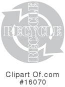 Royalty-Free (RF) recycle Clipart Illustration #16070