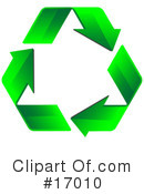 Recycle Clipart #17010 by Leo Blanchette