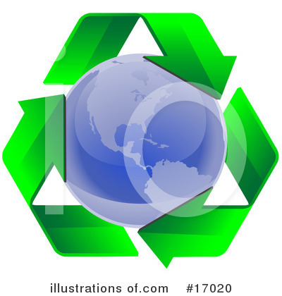 Royalty-Free (RF) Recycle Clipart Illustration by Leo Blanchette - Stock Sample #17020