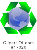 Royalty-Free (RF) recycle Clipart Illustration #17020