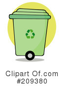 Royalty-Free (RF) Recycle Clipart Illustration #209380