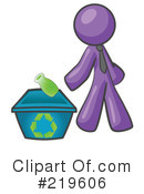 Royalty-Free (RF) Recycle Clipart Illustration #219606