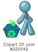 Royalty-Free (RF) recycle Clipart Illustration #220042