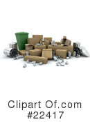 Royalty-Free (RF) recycle Clipart Illustration #22417