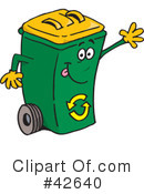Royalty-Free (RF) recycle Clipart Illustration #42640
