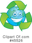 Royalty-Free (RF) recycle Clipart Illustration #45526