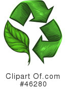 Royalty-Free (RF) recycle Clipart Illustration #46280