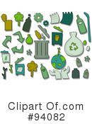 Royalty-Free (RF) recycle Clipart Illustration #94082