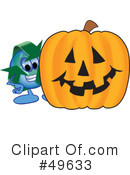 Recycle Mascot Clipart #49633 by Toons4Biz