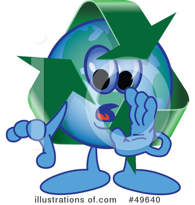 Recycle Mascot Clipart #49640 by Toons4Biz