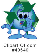 Recycle Mascot Clipart #49640
