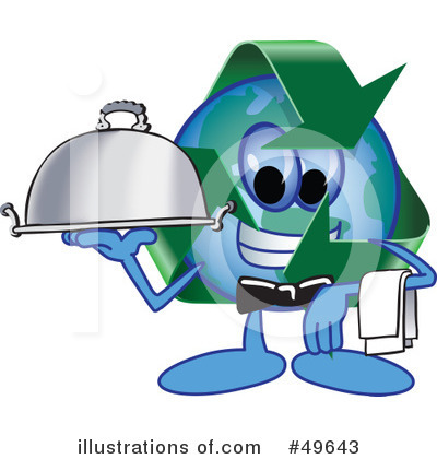 Recycle Mascot Clipart #49643 by Toons4Biz