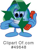 Recycle Mascot Clipart #49648 by Toons4Biz
