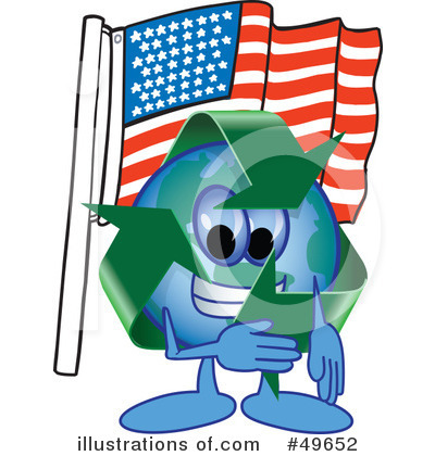 Recycle Mascot Clipart #49652 by Toons4Biz