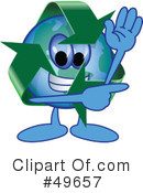 Recycle Mascot Clipart #49657 by Toons4Biz