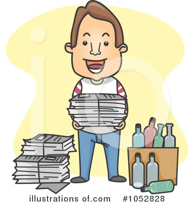 Newspaper Clipart #1052828 by BNP Design Studio