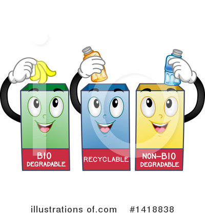Recycle Clipart #1418838 by BNP Design Studio