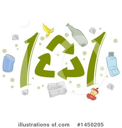Royalty-Free (RF) Recycling Clipart Illustration by BNP Design Studio - Stock Sample #1450205