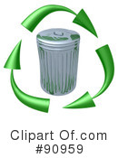 Royalty-Free (RF) recycling Clipart Illustration #90959