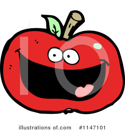 Red Apples Clipart #1147101 by lineartestpilot